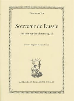 Fernando Sor - Souvenir de Russie - 2 Guitares - Partition - di-arezzo.fr