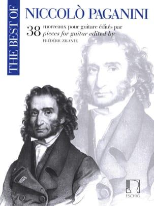 Niccolò Paganini - 38 Morceaux - Guitare - Partition - di-arezzo.fr
