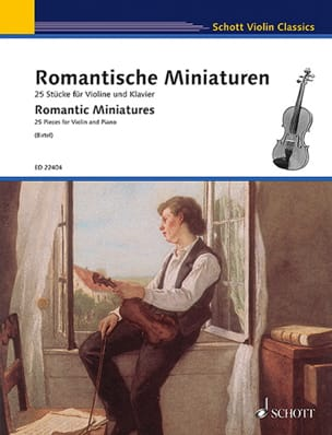 Romantic Miniatures - Violin and Piano - Sheet Music - di-arezzo.co.uk