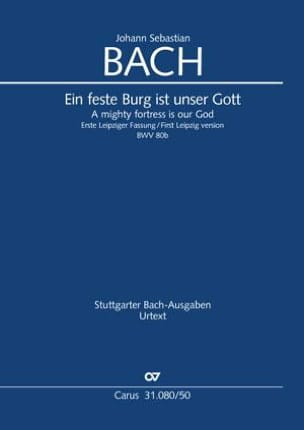 Cantate BWV 80b - Conducteur BACH Partition laflutedepan