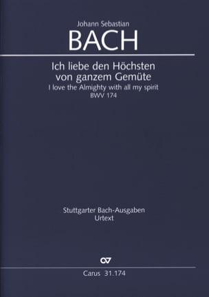 BACH - Cantate BWV 174 - Fahrer - Noten - di-arezzo.de