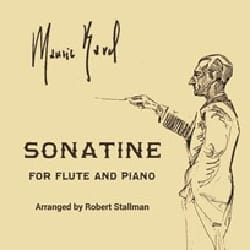 Maurice Ravel - Sonatine - Flute and Piano - Partition - di-arezzo.co.uk