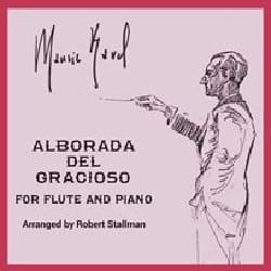 Maurice Ravel - Alborada del Gracioso - Flute and Piano - Sheet Music - di-arezzo.com
