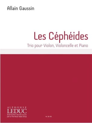 Allain Gaussin - The Cepheids - Violin, Violin and Piano Trio - Sheet Music - di-arezzo.com