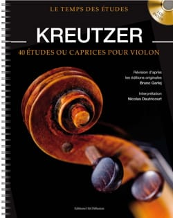 Rodolphe Kreutzer - 40 Studies or Caprices for Violin - Sheet Music - di-arezzo.com