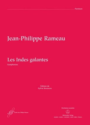 Jean-Philippe Rameau - The Galantes Indies - Symphonies - Sheet Music - di-arezzo.co.uk