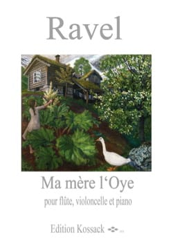 Maurice Ravel - My Mother The Eye - Flauta, violonchelo y piano - Partitura - di-arezzo.es