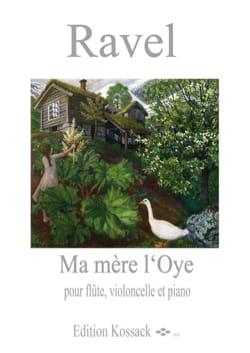 Ma Mère L'Oye - Flûte, Violoncelle et Piano - RAVEL - laflutedepan.com