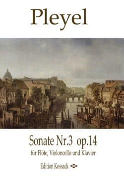 Ignaz Pleyel - Sonate, op. 14 n° 3 - Partition - di-arezzo.fr