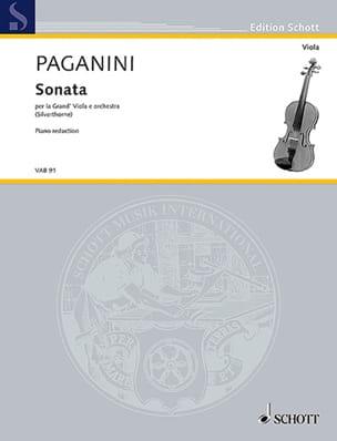 Niccolò Paganini - Sonate - Partition - di-arezzo.fr