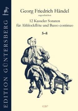 HAENDEL - 12 Kassel Sonatas 5-8 - Sheet Music - di-arezzo.com