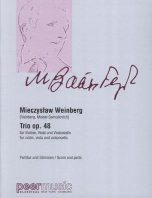 Mieczyslaw Weinberg - Trio op. 48 - Sheet Music - di-arezzo.com