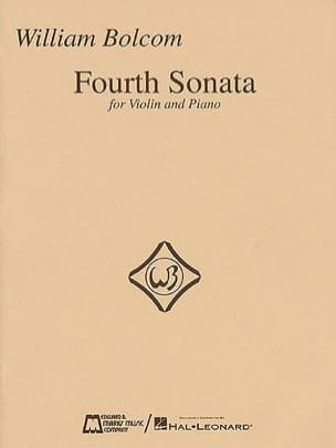 William Bolcom - Cuarta Sonata para Violín y Piano - Partition - di-arezzo.es