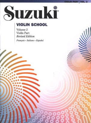 Suzuki - Violin School Volume 2 in French without CD - Sheet Music - di-arezzo.co.uk