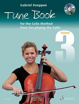 Gabriel Koeppen - Tune Book for the Cello Method - Volume 3 - Partition - di-arezzo.fr