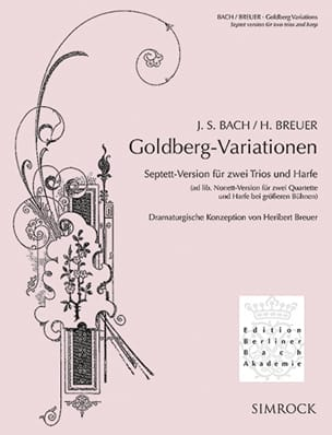 Variations Goldberg - BACH - Partition - laflutedepan.com