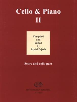 Cello & Piano Vol. 2 - Arpad Pejtsik - Partition - laflutedepan.com