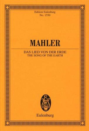 Gustav Mahler - Le Chant de la Terre - Partition - di-arezzo.fr