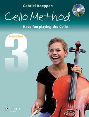 Gabriel Koeppen - Cello Method - Lesson Book 3 - Sheet Music - di-arezzo.co.uk