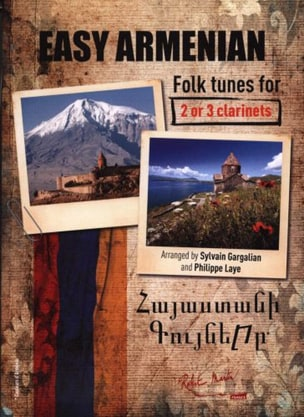 Easy Armenian Folk Tunes - Traditionnels - laflutedepan.com