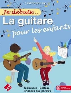 WALLON ALEXANDRE - Estoy empezando ... Guitarra para niños - Partitura - di-arezzo.es