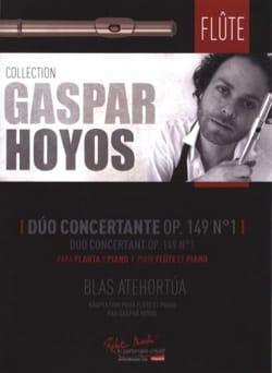 Blas Atehortua - Duo Concertant, op. 149 n° 1 - Partition - di-arezzo.fr