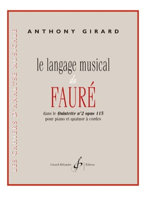 Anthony Girard - Musical Language of Fauré - Sheet Music - di-arezzo.com