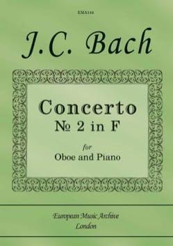 Concerto n° 2 en Fa Johann Christian Bach Partition laflutedepan