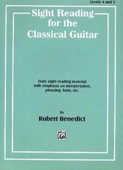 Benedict - Lettura a prima vista per la chitarra classica - Partitura - di-arezzo.it