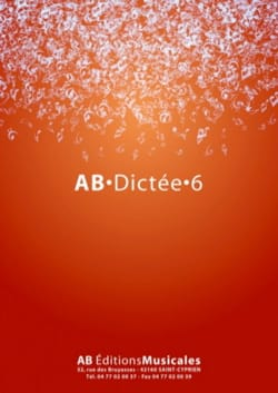 - AB Dictation 6 - Sheet Music - di-arezzo.com