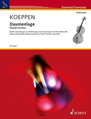 Gabriel Koeppen - Daumenlage - Sheet Music - di-arezzo.co.uk