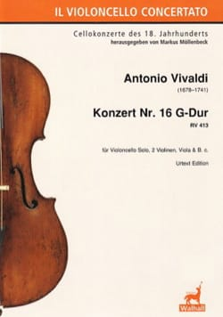 VIVALDI - Concerto No. 16, RV 413 - Sheet Music - di-arezzo.com