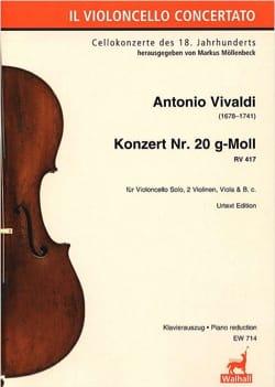 VIVALDI - Concerto No. 20, RV 417 - Sheet Music - di-arezzo.com