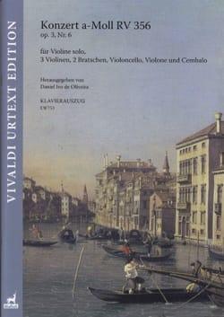 VIVALDI - Concerto, op. 3 n° 6 - Partition - di-arezzo.fr