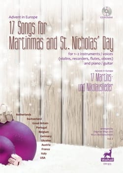 - 17 Songs for Martinmas and S. Nicholas'Day Vol. 3 - Partition - di-arezzo.fr