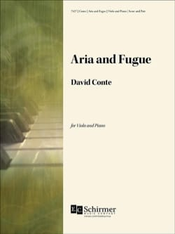 David Conte - Aria et Fugue - Partition - di-arezzo.fr