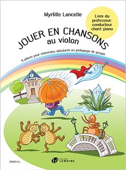 Jouer en Chansons au Violon - Conducteur Chant-Piano - laflutedepan.com