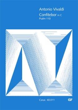 VIVALDI - Confitebor, Psaume 110 - Partition - di-arezzo.fr