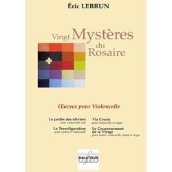 Eric Lebrun - Vingt Mystères du Rosaire - Violoncelle - Partition - di-arezzo.fr
