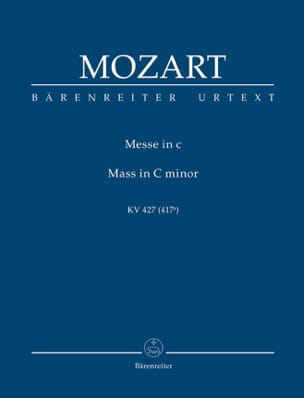 MOZART - Missa c-moll KV 427 - Partitur - Sheet Music - di-arezzo.co.uk
