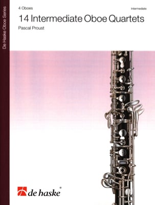 Pascal Proust - 14 Intermediate Oboe Quartets - Sheet Music - di-arezzo.co.uk
