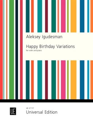 Happy Birthday Variations - Aleksey Igudesman - laflutedepan.com