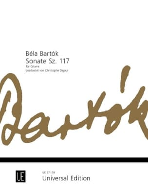 Sonate Sz. 117 - Béla Bartok - Partition - Guitare - laflutedepan.com