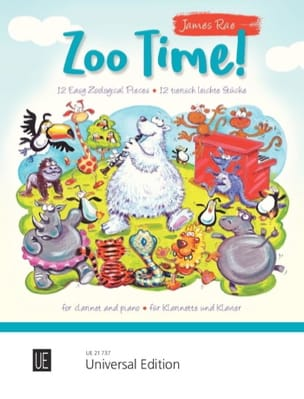 Zoo Time ! James Rae Partition Clarinette - laflutedepan