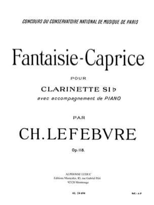 Fantaisie-Caprice op. 118 Charles Edouard Lefebvre laflutedepan