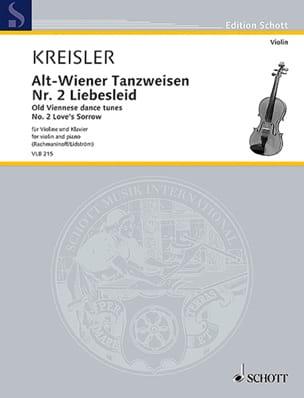 Liebesleid - Fritz Kreisler - Partition - Violon - laflutedepan.com