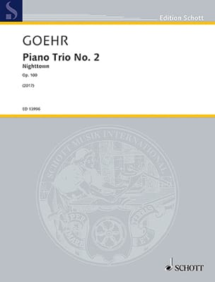Alexander Goehr - Trio No. 2 Nighttown, op. 100 - Sheet Music - di-arezzo.com