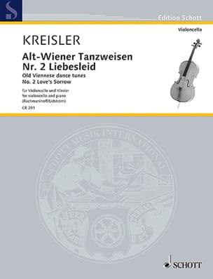Liebesleid - Fritz Kreisler - Partition - laflutedepan.com