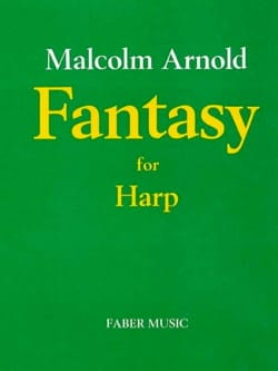 Fantasy Malcolm Arnold Partition Harpe - laflutedepan