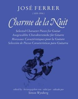 José Ferrer - Charme de la Nuit - Partition - di-arezzo.fr